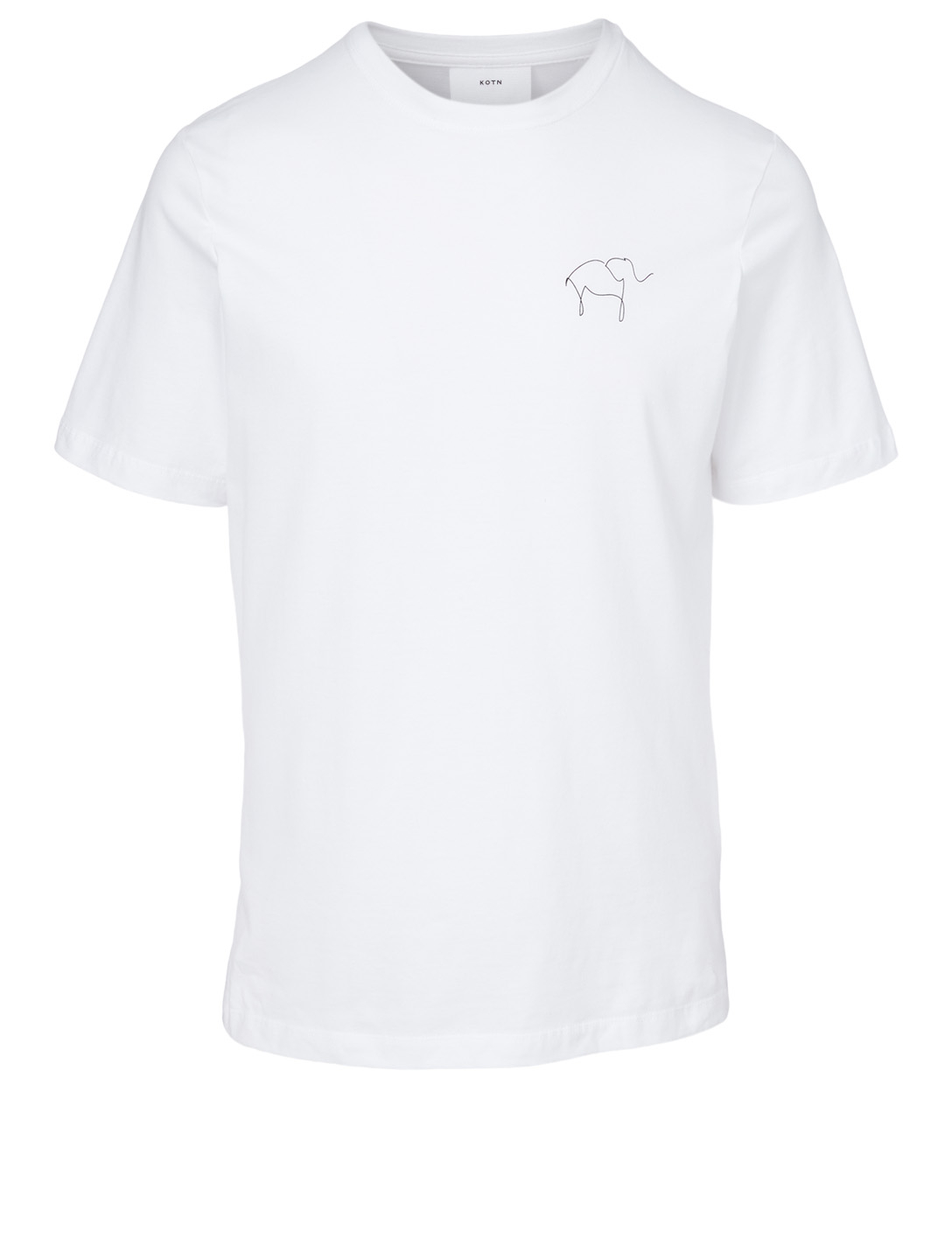 KOTN Knot On My Planet Cotton T-Shirt H Project White