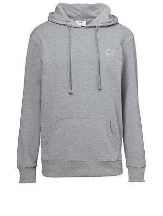 KOTN Knot On My Planet Cotton Hoodie H Project Grey