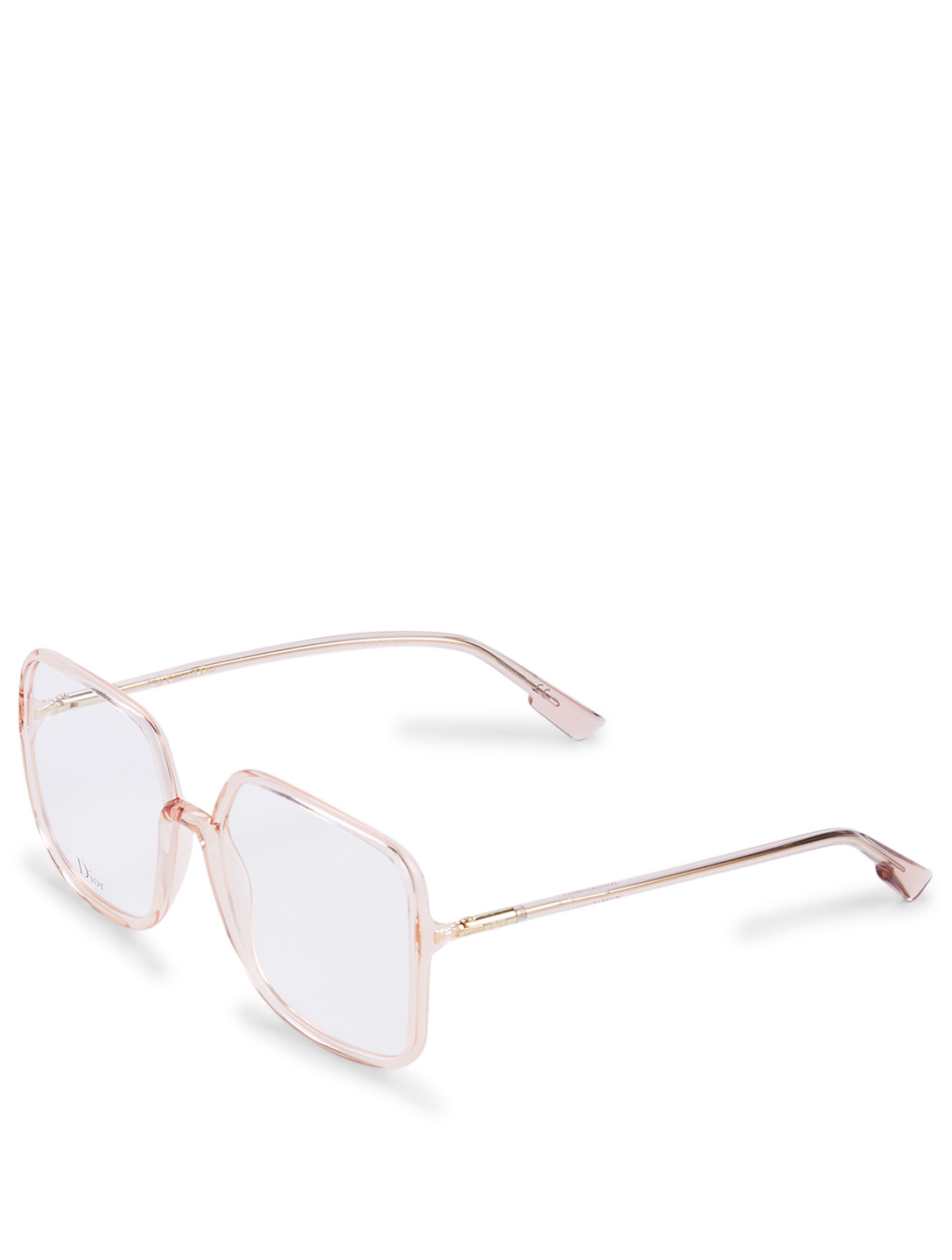 DIOR SoStellaireO1 Square Optical Glasses Women's Pink