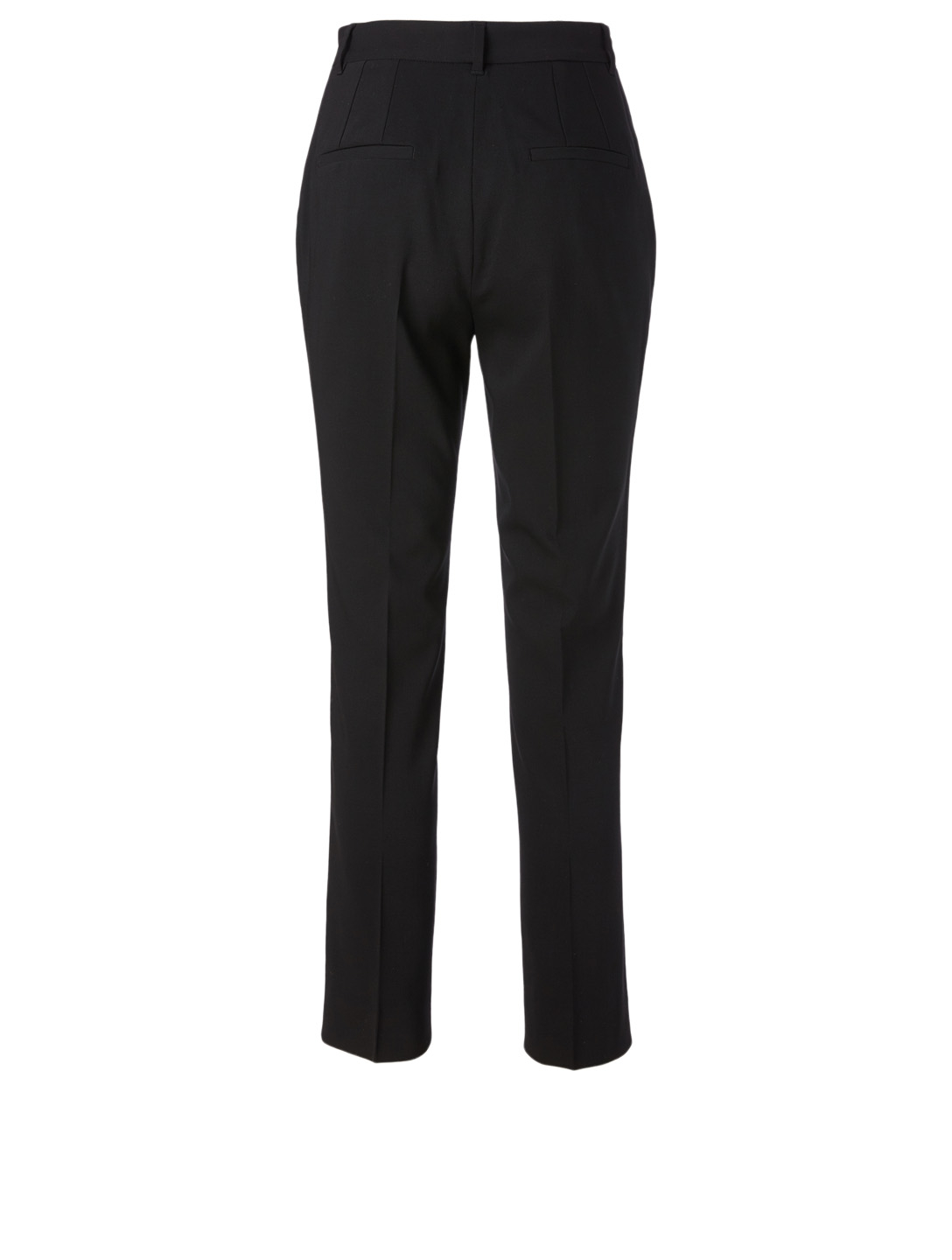 DOLCE & GABBANA Wool High-Waisted Pants Women's Black