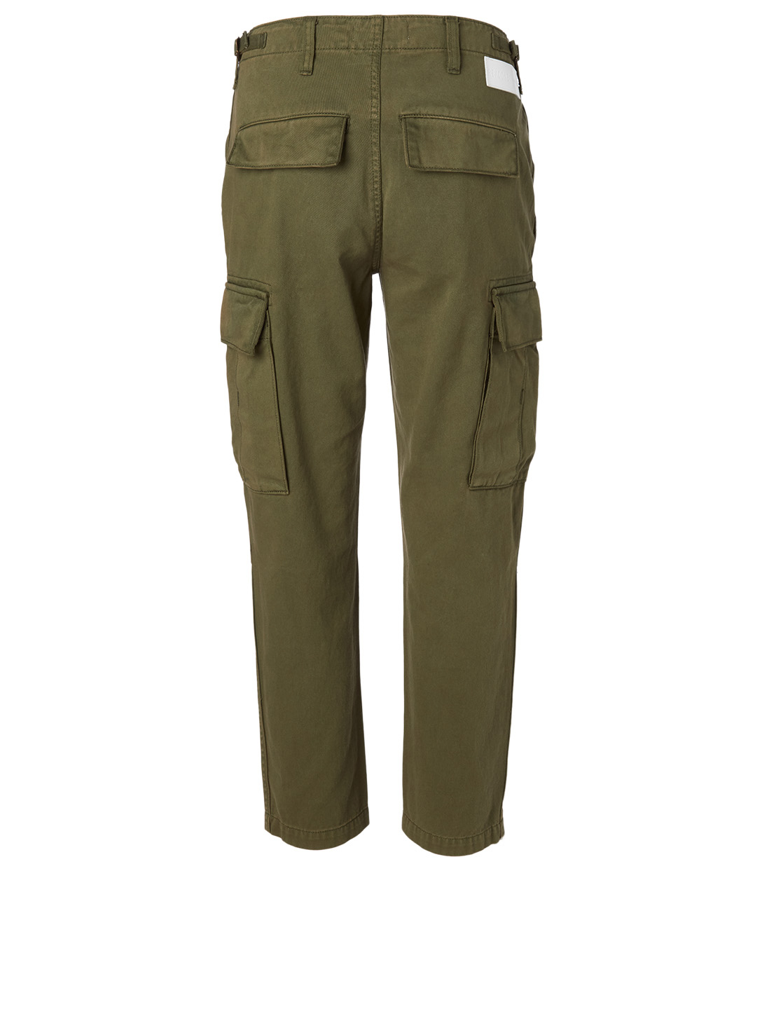 RE/DONE Cotton Cargo Pants Women's Green
