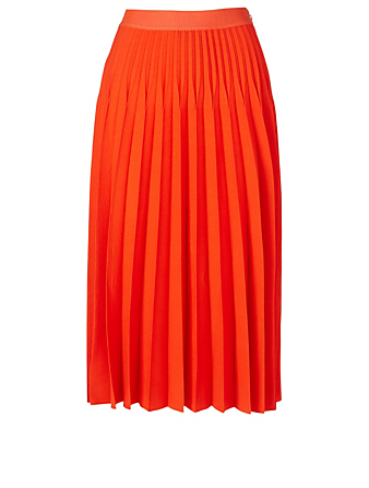 GIAMBATTISTA VALLI Wool-Blend Skirt Women's Orange