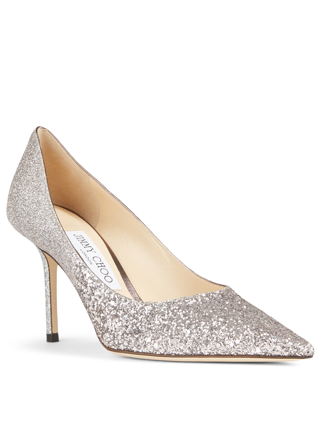 JIMMY CHOO Love 85 Glitter Dégradé Pumps Women's Purple