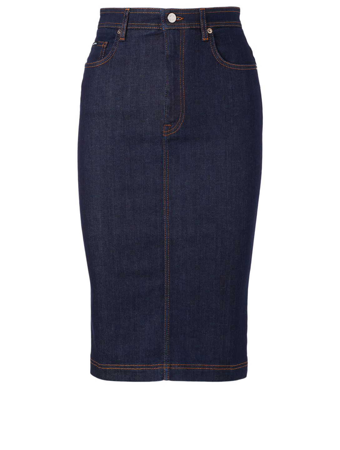 DOLCE & GABBANA Denim Pencil Skirt Women's Blue