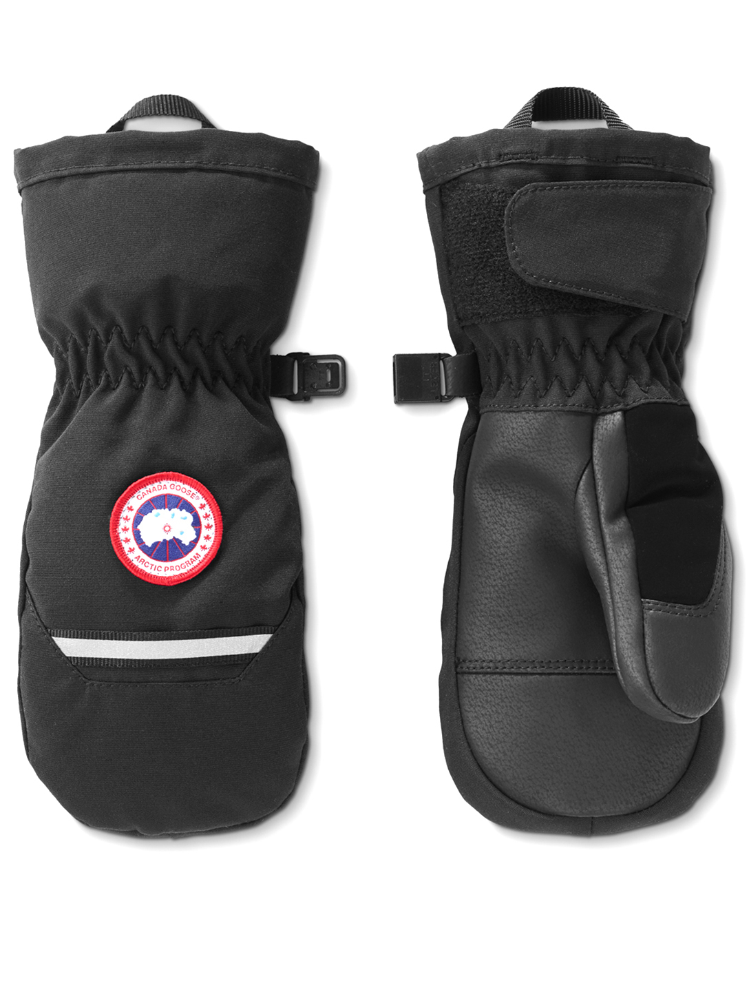 CANADA GOOSE Kids Arctic Down Mittens Kids Black
