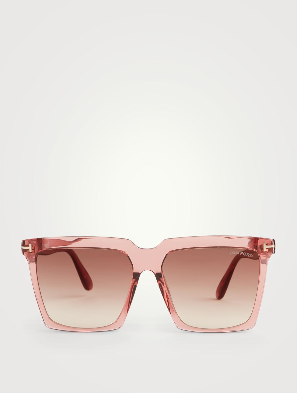 Tom Ford Sabrina Square Sunglasses Holt Renfrew Canada