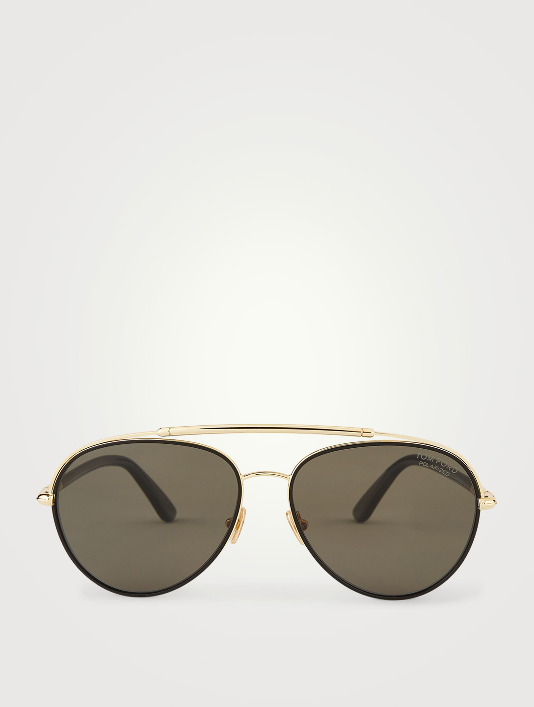 TOM FORD Curtis Aviator Sunglasses Men's Black