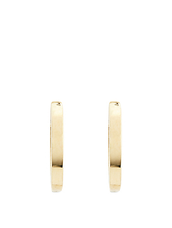 JENNIFER MEYER Small Gold Huggie Hoop Earrings Women's Metallic