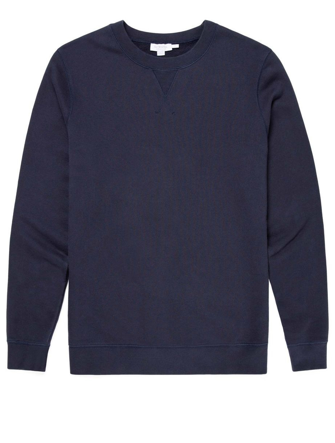 SUNSPEL Cotton Crewneck Sweatshirt Men's Blue