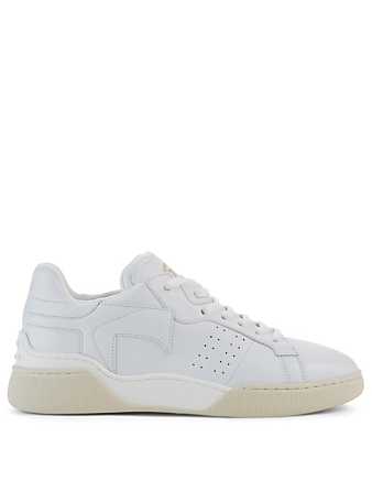 TOD'S Leather Sneakers Women's White