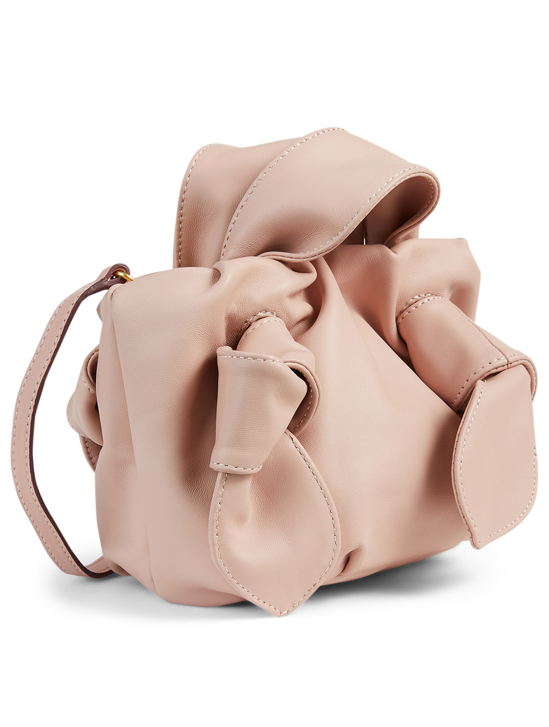 STAUD Ronnie Leather Bag Women's Pink