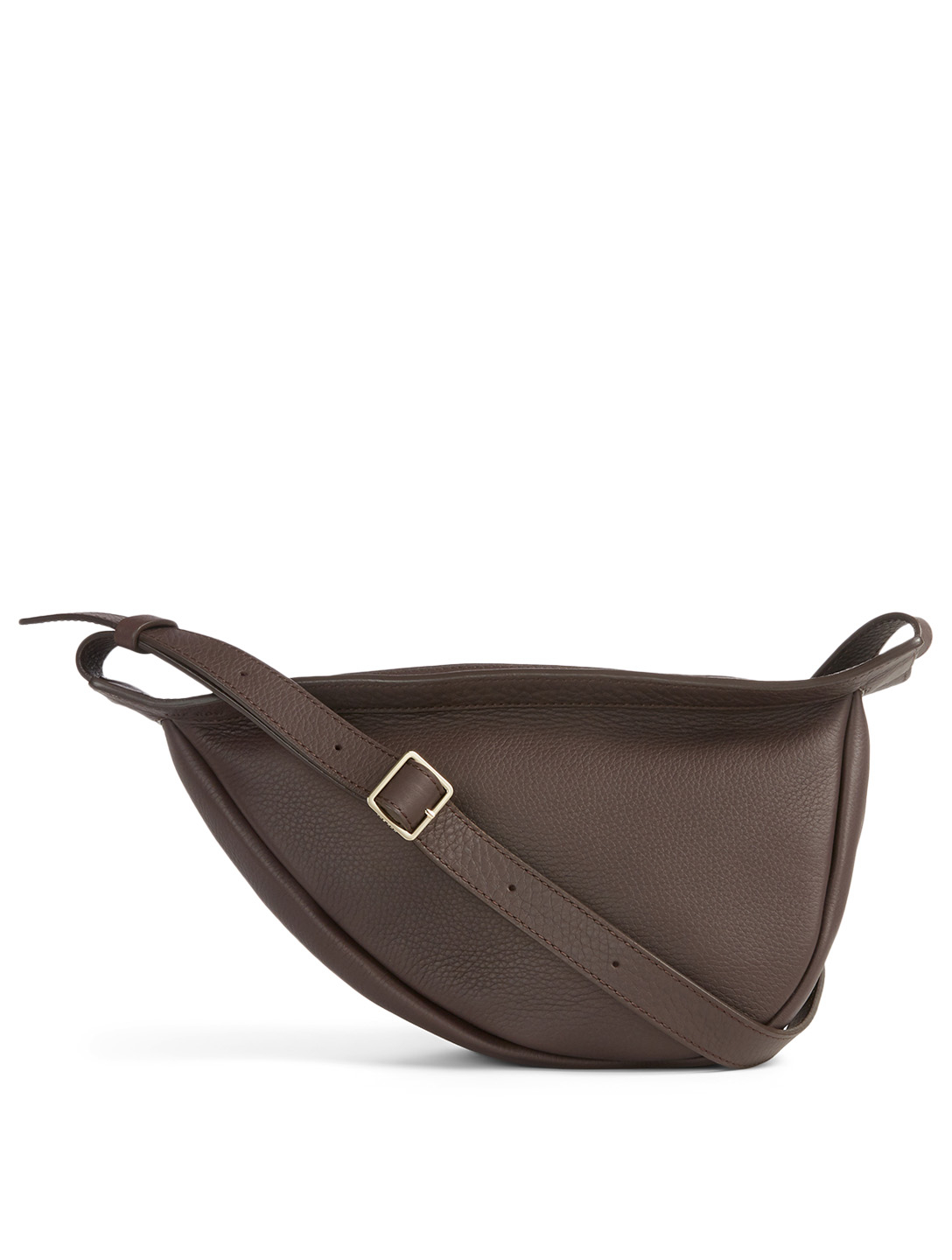 THE ROW Small Slouchy Banana Leather Bag Women's Purple