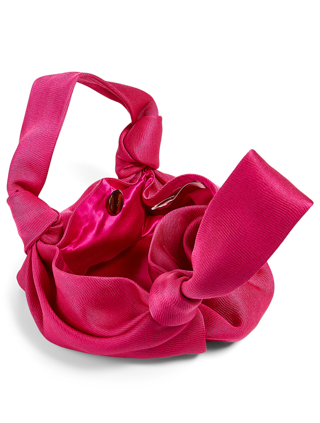 THE ROW Ascot Two Silk Bag Women's Pink