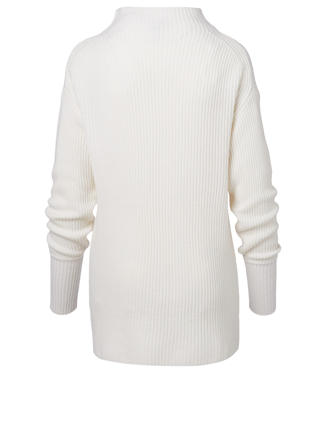 VARLEY Collins Ribbed Mockneck Sweater Women's White