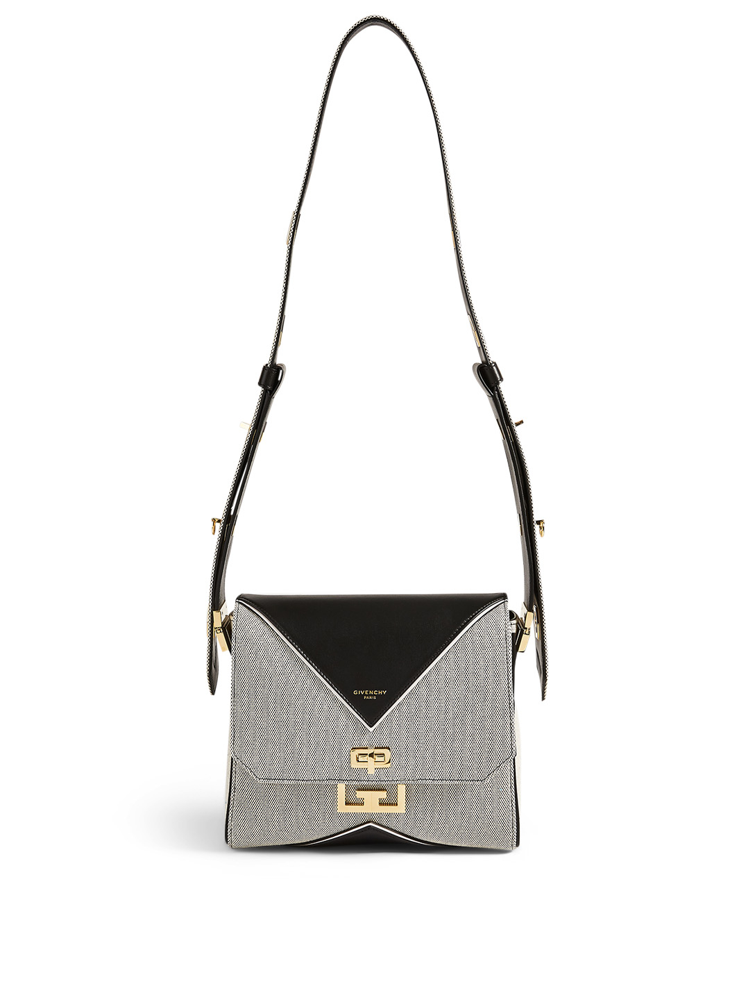 GIVENCHY Medium Eden Canvas Bag Women's Black