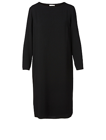 THE ROW Larina Midi Dress Women's Black