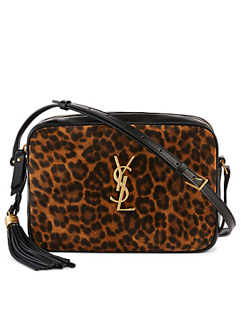 Saint Laurent Lou Ysl Monogram Leather Camera Bag With