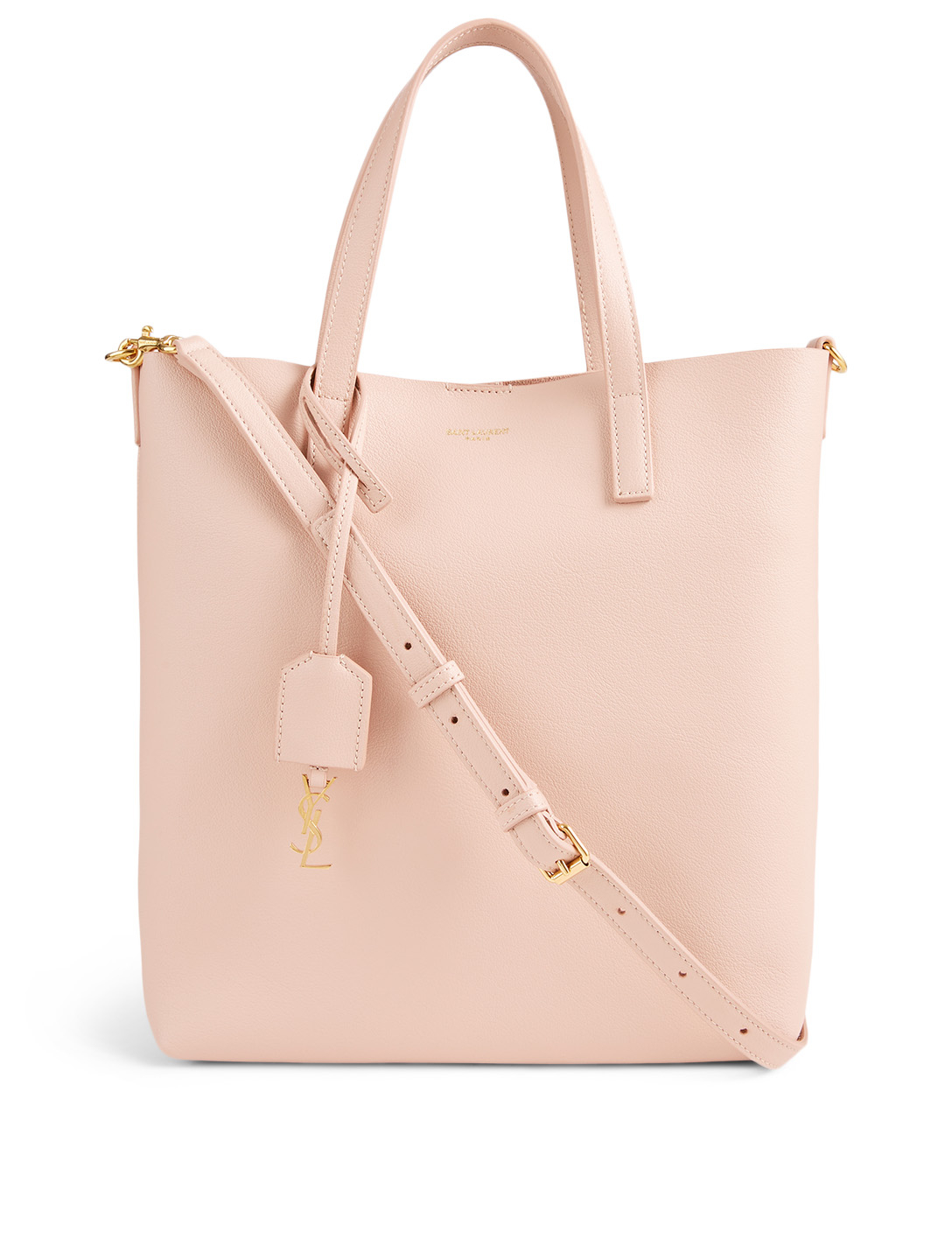 SAINT LAURENT Toy YSL Monogram Leather Bag Women's Pink