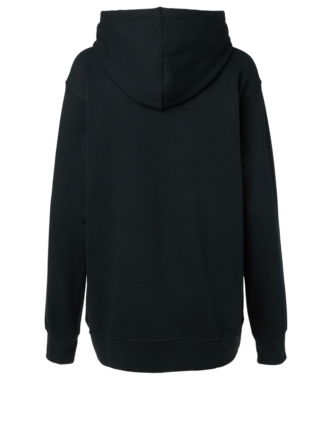THE MARC JACOBS Cotton Logo Hoodie Women's Black