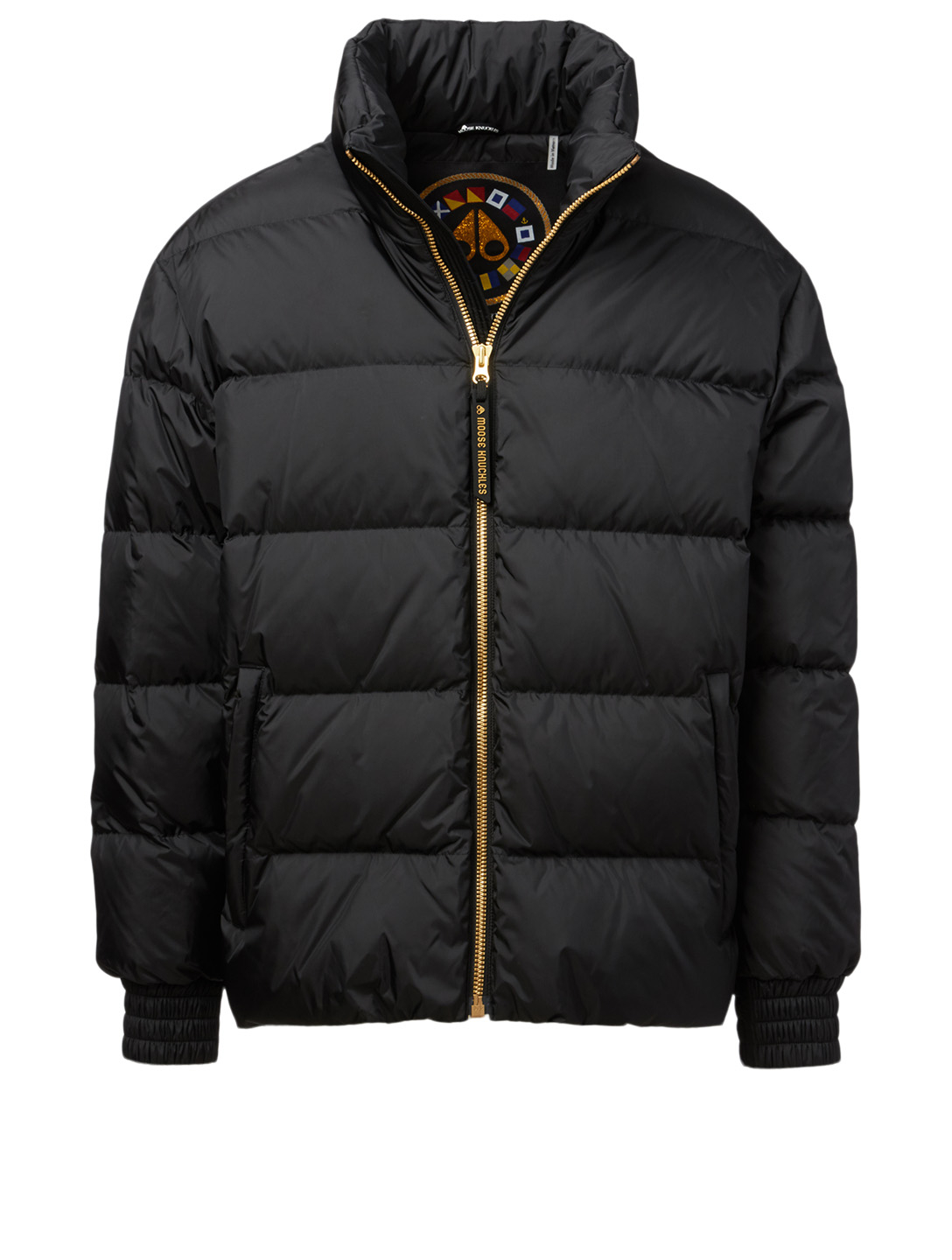 MOOSE KNUCKLES Gold Collection Culross Jacket Men's Black