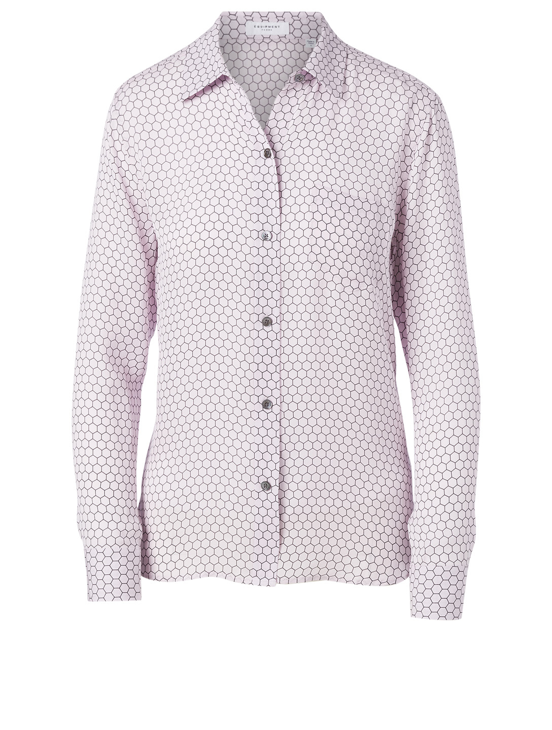EQUIPMENT Brett Silk Shirt Women's Purple