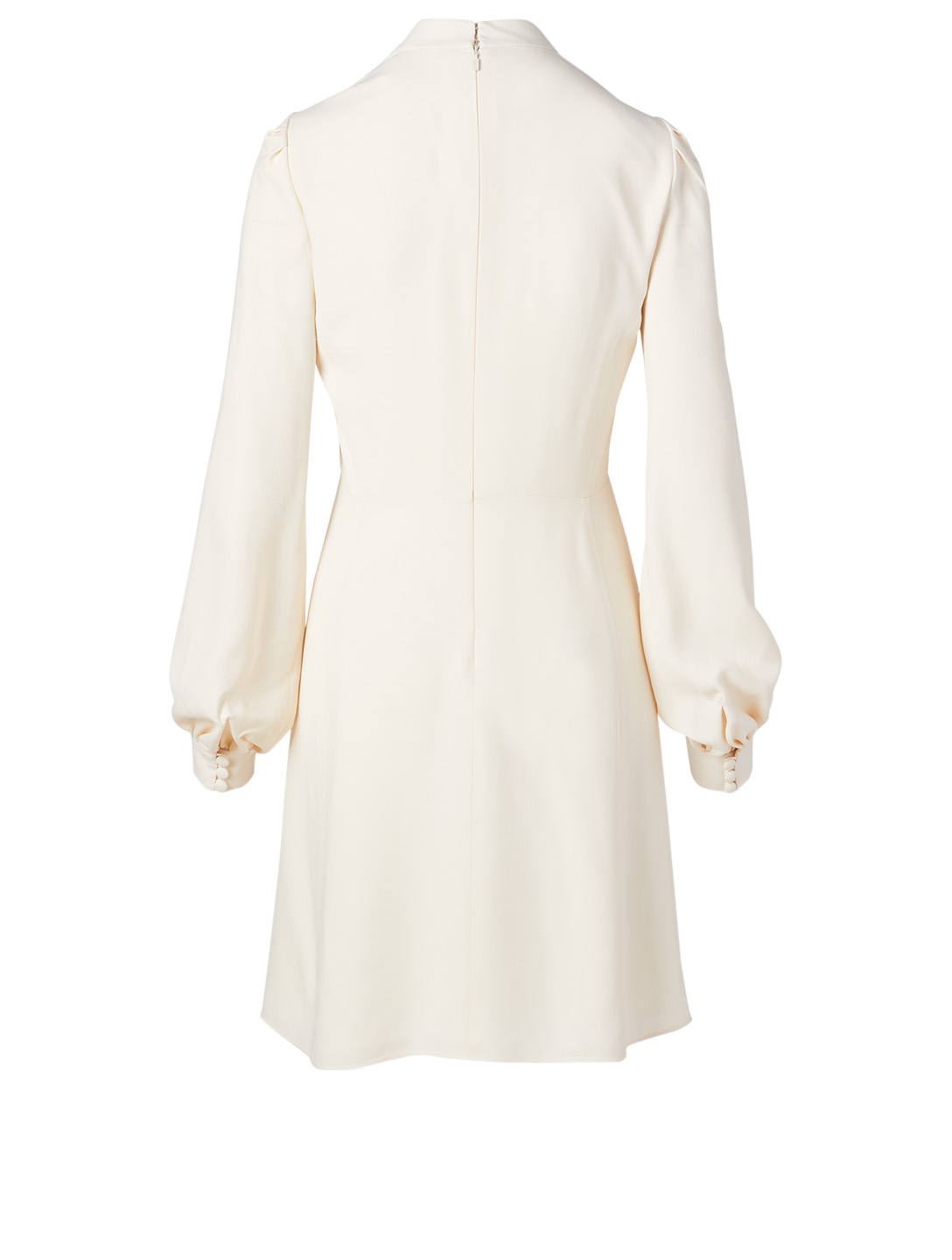 CHLOÉ Buttoned Long-Sleeve Dress Women's White