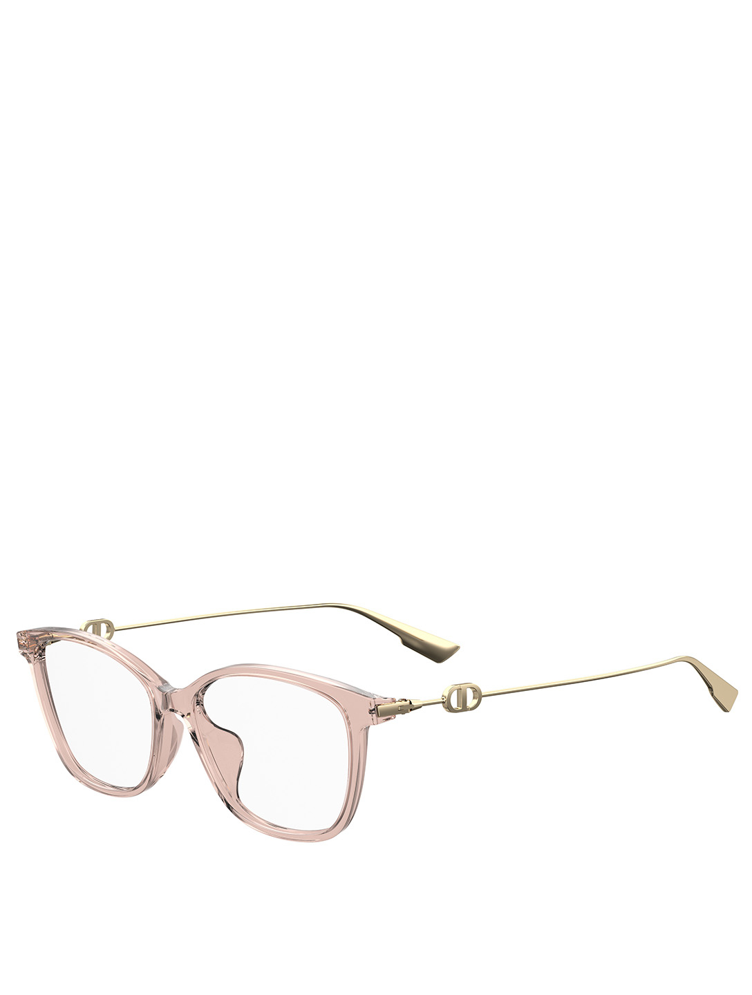 DIOR DiorSightO1F Square Optical Glasses Women's Pink