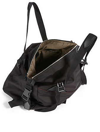 GIVENCHY Small Downtown Nylon Duffle Bag Men's Black