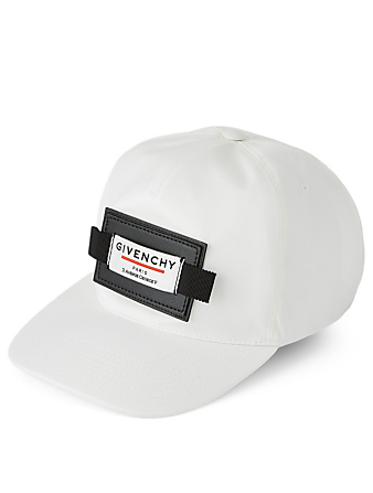 GIVENCHY Ball Cap With Logo Label Men's White