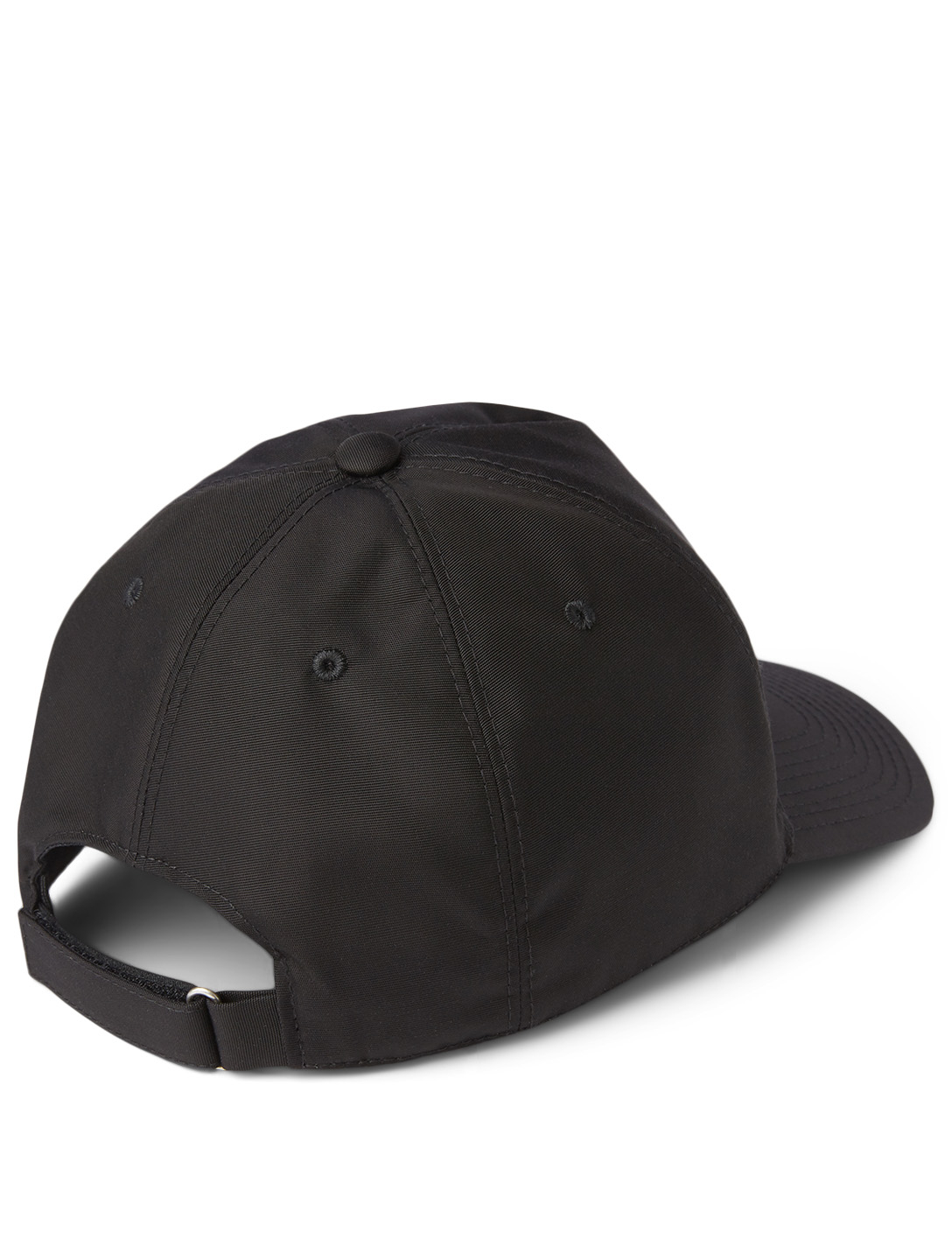 GIVENCHY Split Logo Nylon Baseball Cap Men's Black