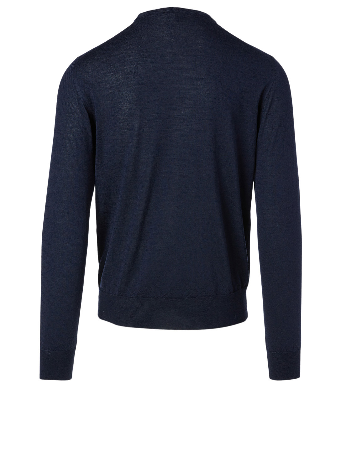 ELEVENTY Wool And Silk Long-Sleeve Sweater Men's Blue