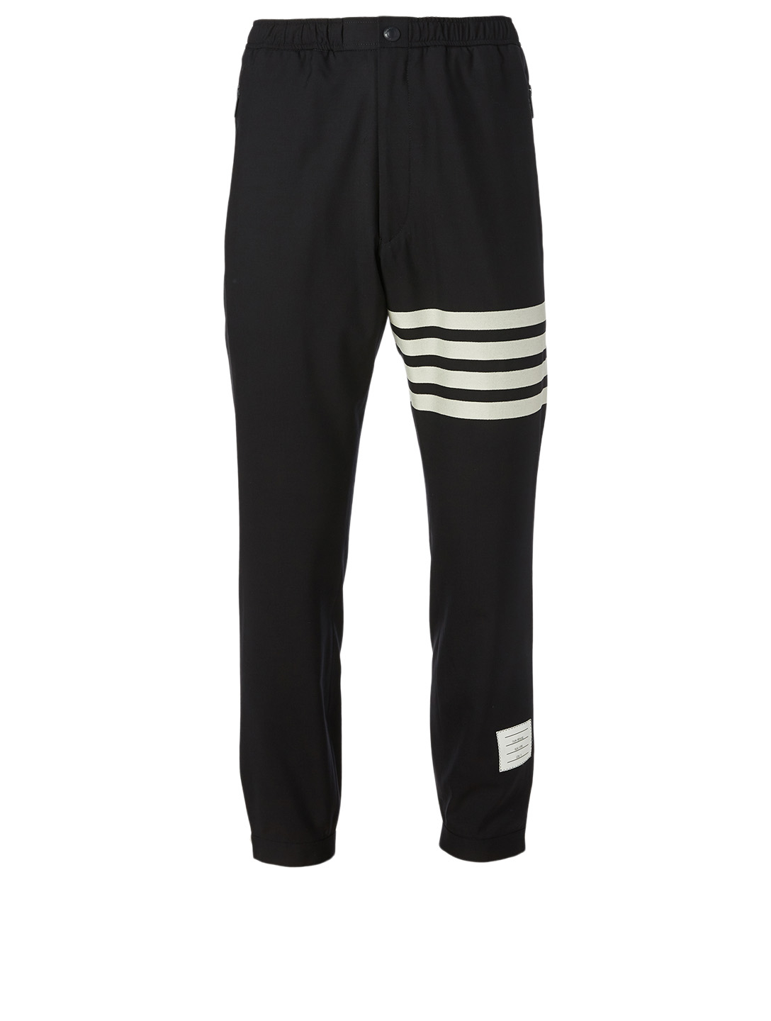 THOM BROWNE Wool Four-Bar Track Pants Men's Blue