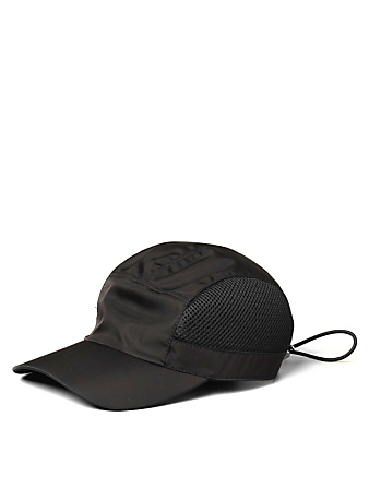 PRADA Nylon Cap Men's Black