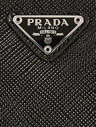 PRADA Saffiano Leather Bag Men's Black