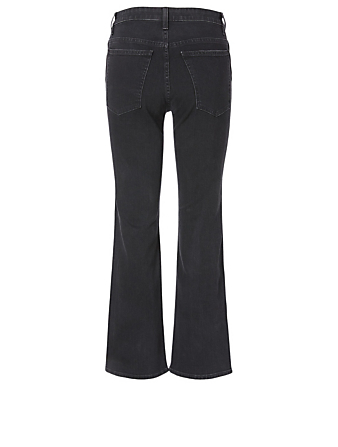 KHAITE Vivian High-Waisted Jeans Women's Black