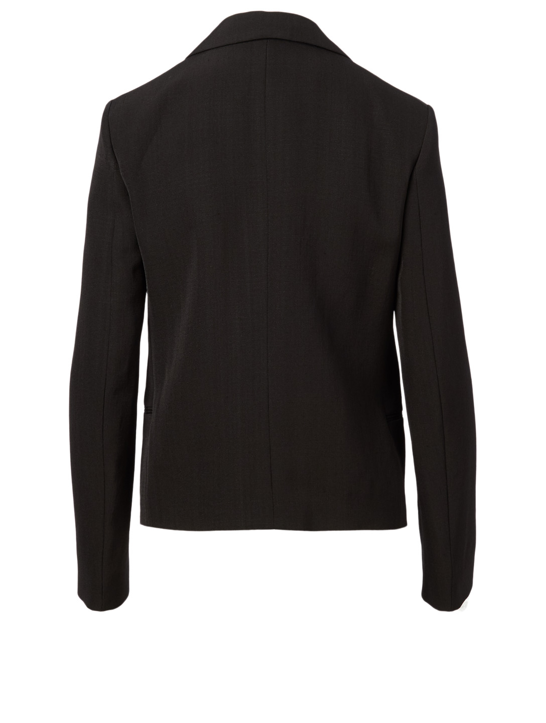 JIL SANDER Maiva Silk-Blend Blazer Women's Black
