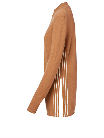 JIL SANDER Cashmere And Cotton Sweater Women's Beige
