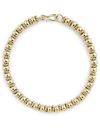 LAURA LOMBARDI Serena 14K Gold Plated Necklace Women's Metallic