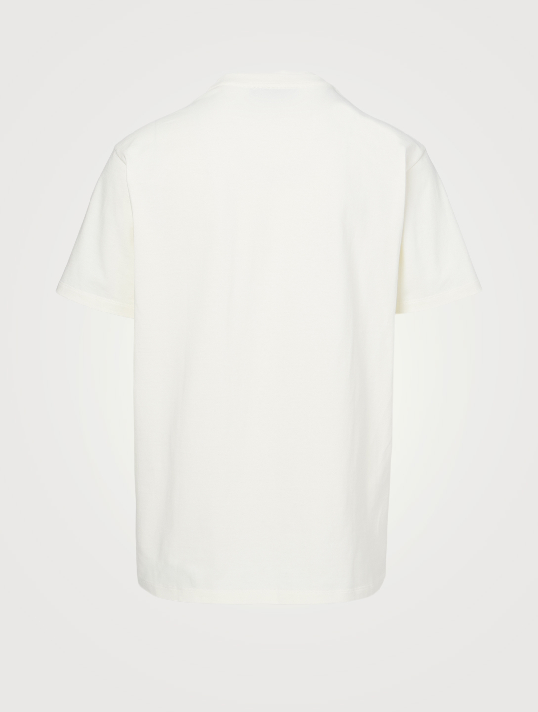GUCCI Cotton T-Shirt In Blade Print Men's White