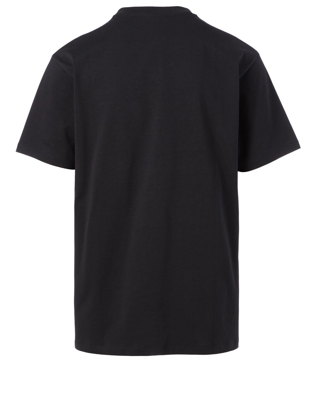GUCCI Cotton Oversized T-Shirt With Logo Band Men's Black