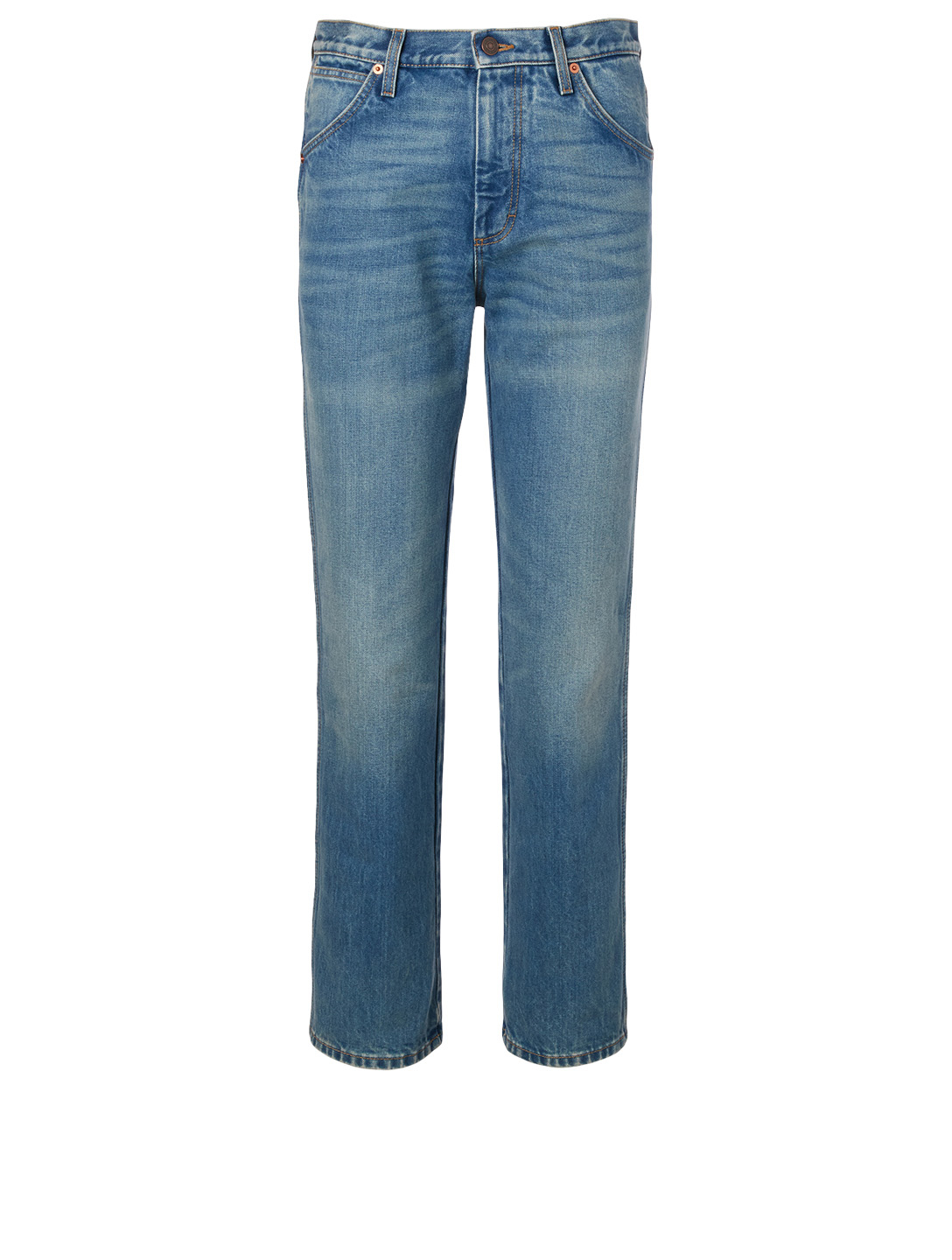 GUCCI Marble Washed Jeans Men's Blue