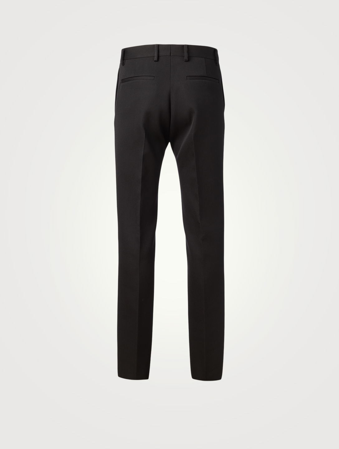 BOTTEGA VENETA Wool Straight-Leg Pants Men's Black