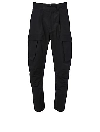 BOTTEGA VENETA Cargo Pants With Belt Men's Black