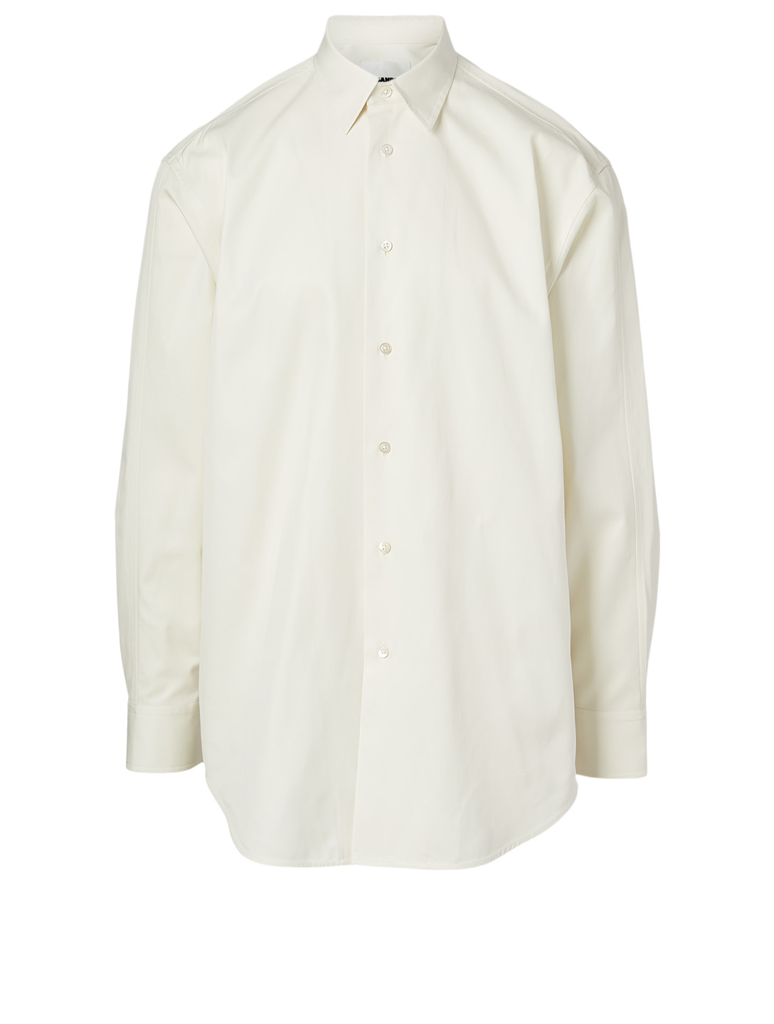 JIL SANDER Cotton Long-Sleeve T-Shirt Men's White