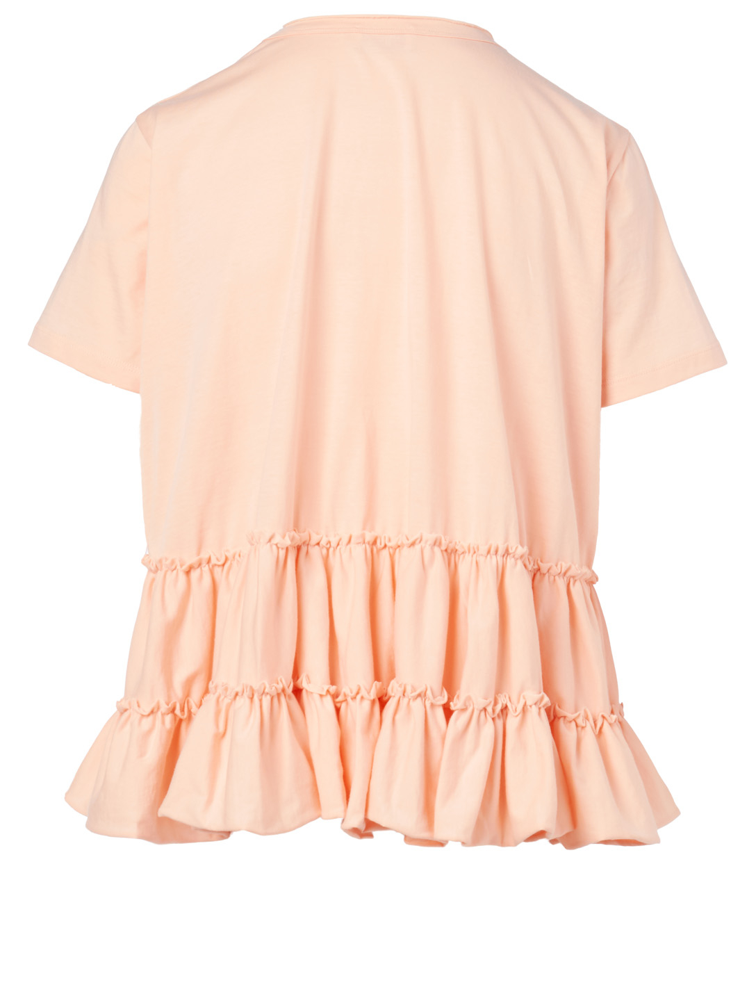 RED VALENTINO Oceans Ruffled T-Shirt Women's White