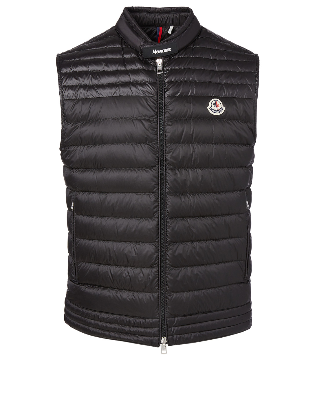 MONCLER Gir Quilted Vest Men's Black