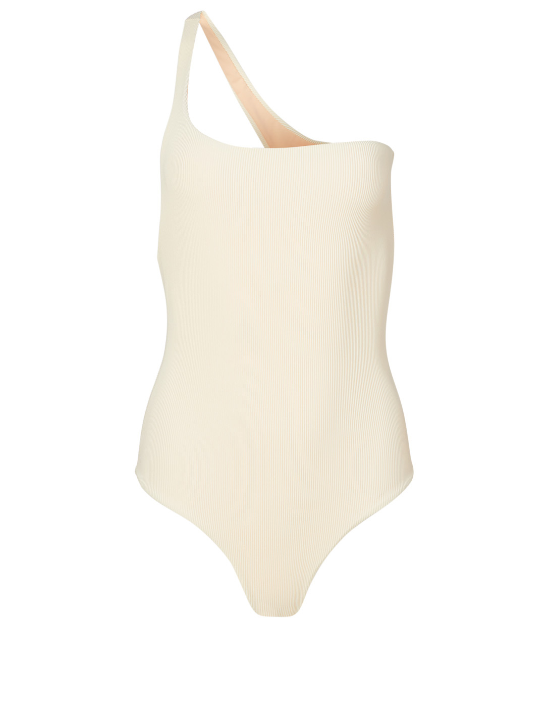 JADE SWIM Evolve One-Shoulder One-Piece Swimsuit H Project White