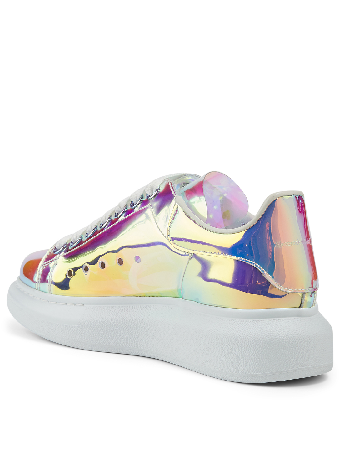 ALEXANDER MCQUEEN Oversized Iridescent Sneakers Women's Multi