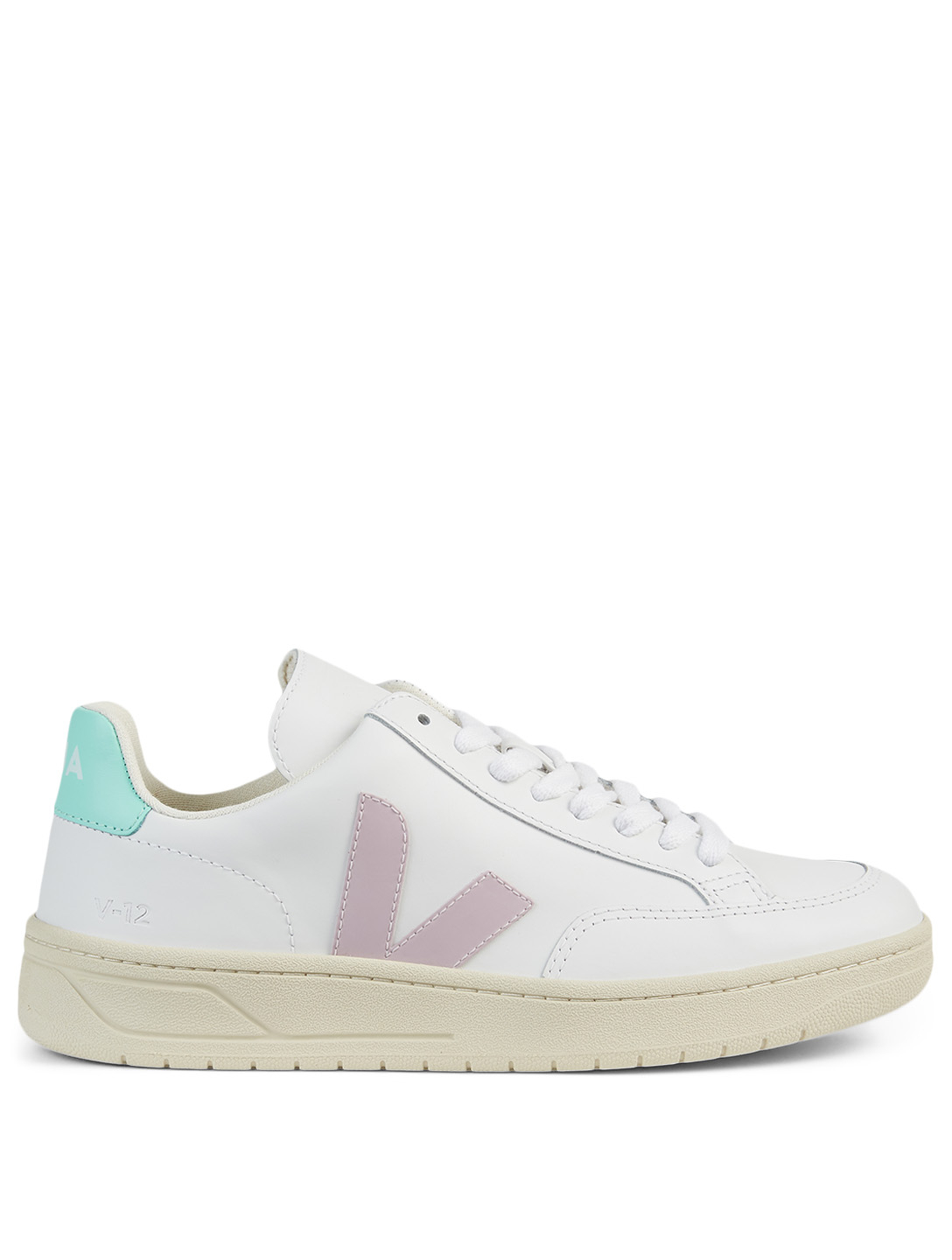 VEJA V-12 Leather Sneakers Women's Purple