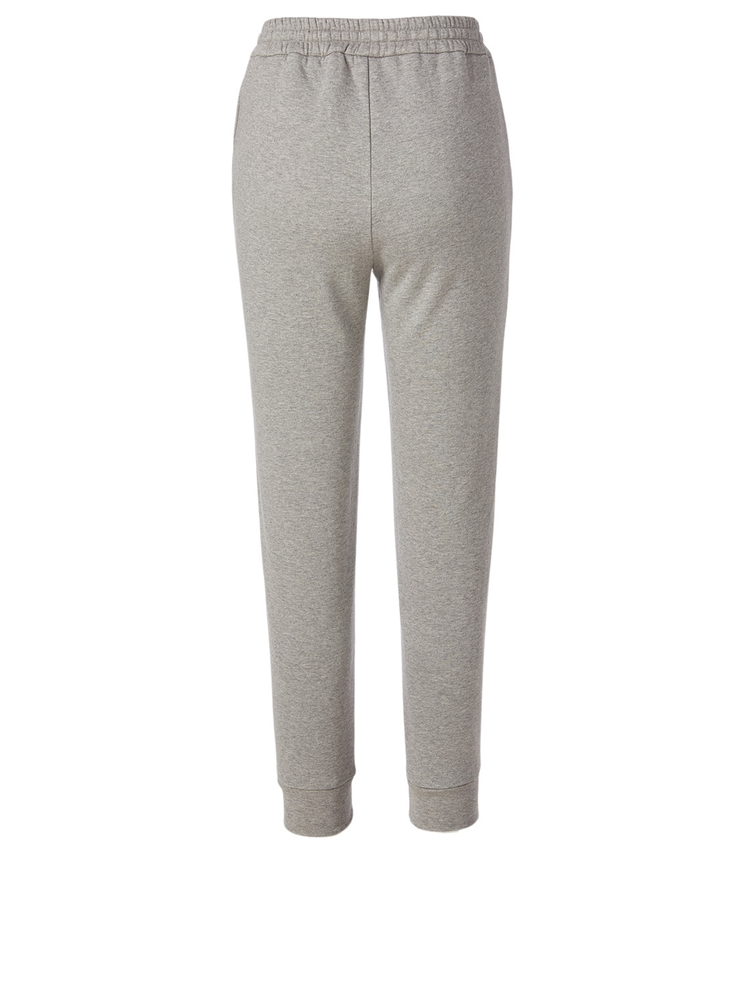 MONCLER Cotton-Blend Sweatpants Women's Grey
